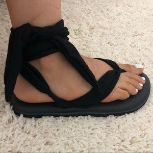 Yoga Slinged Up Sandals